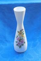 Aquincum porcelán virágmintás váza 25 cm (3/d)