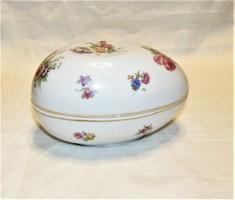 Antik porcelán tojás Beyer & Bock Volkstedt-Rudolstadt