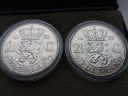 2db ezüst 21/2 gulden