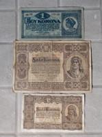 Koronák 1920-1923