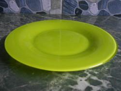 Arc kistányér lapos francia üveg zöld 19,5 cm
