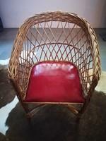 Retro fonott gyerek szék