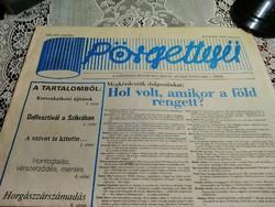 Régi újság , Szilveszteri Pörgettyű 1985 .december