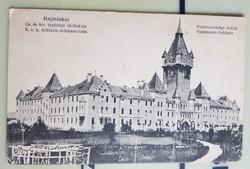 Hajmáskér Cs és kir. tüzérségi lövő iskola Parancsnoksági épület