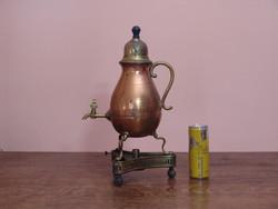 Régi dekoratív teafőző