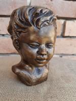 Gyerek fej szobor, gyerek fej tanulmány, büszt