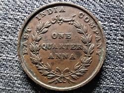 India Viktória 1/4 Anna 1835 (id43365)