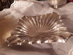 Diannás jelzésü ezüst tál