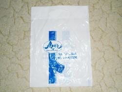 Retro Azúr Kereskedelmi Vállalat - bolt áruház reklámszatyor reklám nylon nejlon szatyor zacskó