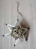 Gablonz csillag karácsonyfadísz