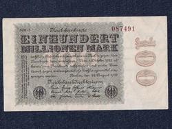 Extra szép német 100 millió márka 1923 (id5598)