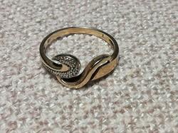 Női arany gyűrű, 585,14K