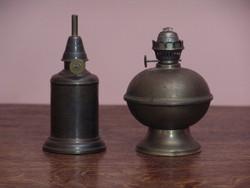 Antik petróleum lámpák
