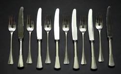 Ezüst kés villa gt, 6 személyes