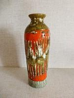 Ritka, retro,vintage iparművész kerámia váza