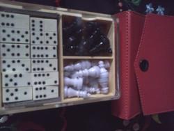 Mágneses sakk és dominó