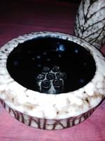Retró szürke ikebana