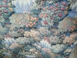 Paradicsomi mintázatú gépi gobelin textil