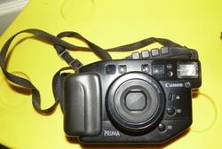 CANON Príma Zoom f analóg fényképezőgép