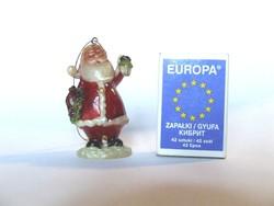 Aranyos picike, mini karácsonyfadísz,karácsonyi télapó, mikulás figura, dekoráció, dísz