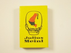 Retro reklám gyufa gyufásdoboz - Csemege Julius Meinl - 1990-es évekből
