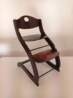 Vintage könyvtári fellépő szék / Osztrák