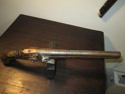 Francia kovás, barokk utazó pisztoly
