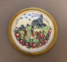 Zsolnay kistálka / Zsolnay bowl