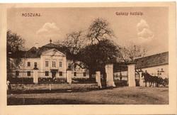 Noszvaj Gallasy kastély