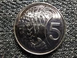 Kajmán-szigetek II. Erzsébet (1952-) 5 cent 2008 (id42020)