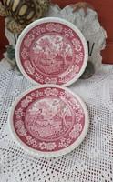 Villeroy&Boch Rusticana sütis süteményes tányérok   tányér  porcelán England