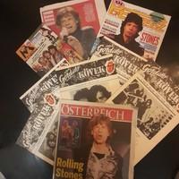 Rolling Stones  újság fotok  10 db