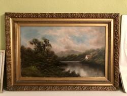 William Collins 1788-1847 (96x66)  antik festménye