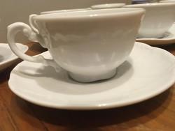 Zsolnay kávéscsésze+alj