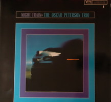 THE OSCAR PETERSON TRIO : NIGHT TRAIN -  JAZZ  BAKELIT VINYL LEMEZ
