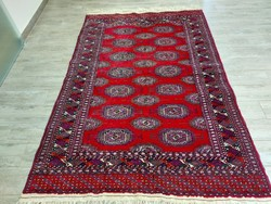 Üzbegisztáni szalor gul 130x200  kézi csomózású gyapjú perzsa szőnyeg MM_310