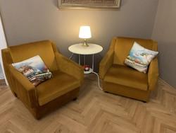 Nagykanizsai bútorgyár termékei, 3db felújított gurulós fotel