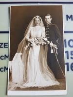 Katona esküvő, Attila ruhában, Csehi foto Pécs