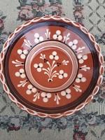 Kerámia falitál - MALÉV relikvia - gyűjtőknek