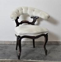 A119 Antik chesterfield barokk karfás szék(íróasztalhoz kitűnő)