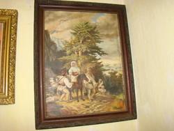 Antik  festmény olaj vászon  bútor vitrin komód íróasztal fotel ülőgarnitúra csillár  eladók