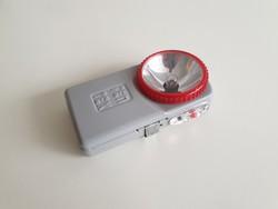 Régi retro fém zseblámpa kis lámpa elemlámpa