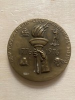 New York Athletic Club Bicentennial Medal 1776 1976