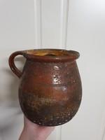 Antik kerámia szilke, cserépedény