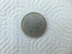 Egyiptom EZÜST 10 piaster 1917  13.4 gramm  01
