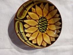 Borsodi Ágnes kerámia fali tányér
