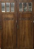 4 darab szecessziós ajtó