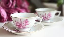 Régi Herendi kávés csésze párban
