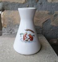 Bodrogkeresztúri emlék váza Balaton felirattal