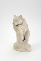 Szőllősi Endre Medve szobor, kisplasztika; 1954 (5009)